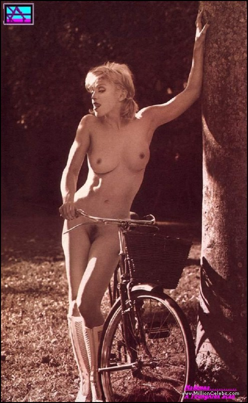 Nude naked madonna